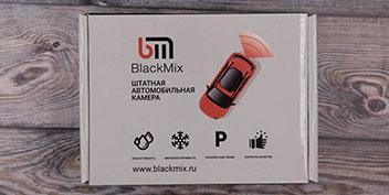 Обзор камеры заднего вида BlackMix для Opel Astra H
