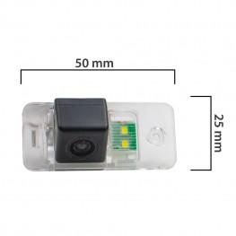 Камера заднего вида BlackMix для Audi A3 с основой из прозрачного пластика